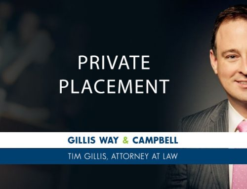 Private Placement of Securities- What is Involved?